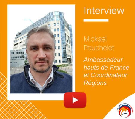 Michael Pouchelet devient Ambassadeur Hauts de France et Coordinateur national des Rebondisseurs français
