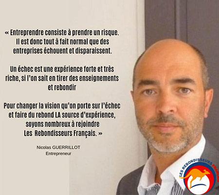 Témoignage Rebondisseur de Nicolas Guerrillot - Entrepreneur