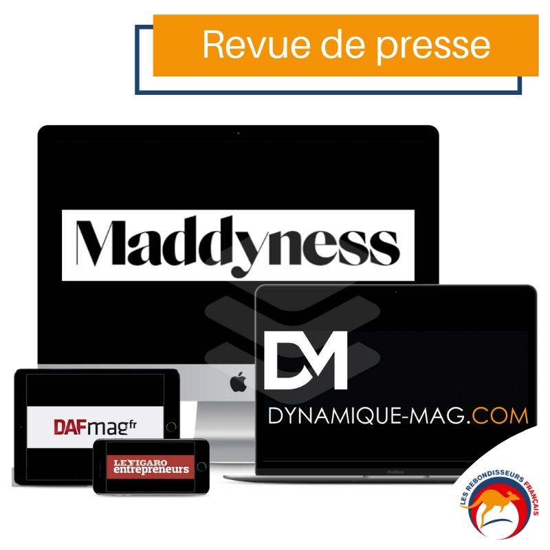 Revue de presse - Les Rebondisseurs Français - 19 mars 2019