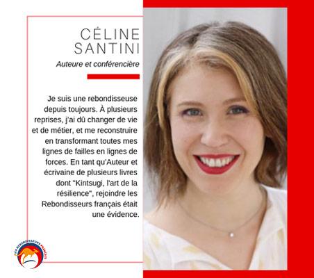 Témoignage Rebondisseuse : Céline Santini - Auteure / Conférencière