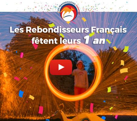 Les Rebondisseurs Français fêtent leur 1er anniversaire