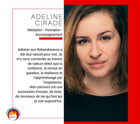 Témoignage Rebondisseur d'Adeline Cirade - Médiation - Formation - Accompagnement
