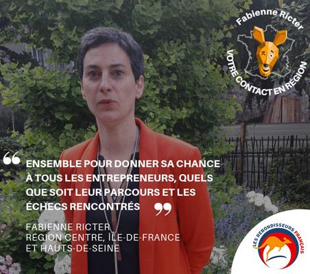 Fabienne Ricter - Harmonie Mutuelle : Ensemble pour donner sa chance à tous les entrepreneurs, quels que soit leur parcours et les échecs rencontrés