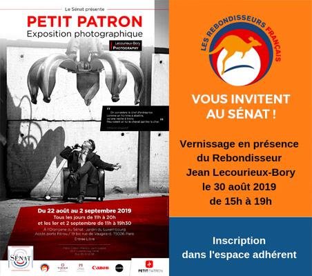 Les Rebondisseurs Français vous invitent au Sénat pour le vernissage