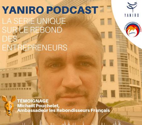 Podcast : Michael Pouchelet, entrepreneur dunkerquois fondateur de LAREKLAM, coordinateur régional des Rebondisseurs Français revient sur son parcours